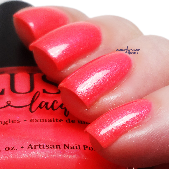 xoxoJen's swatch of BLUSH Livin In A Material World