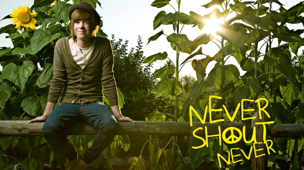 NeverShoutNever! | Kai's Strange World