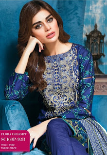 Bonanza Satrangi Eid-ul-Azha Lawn Collection 2016-17