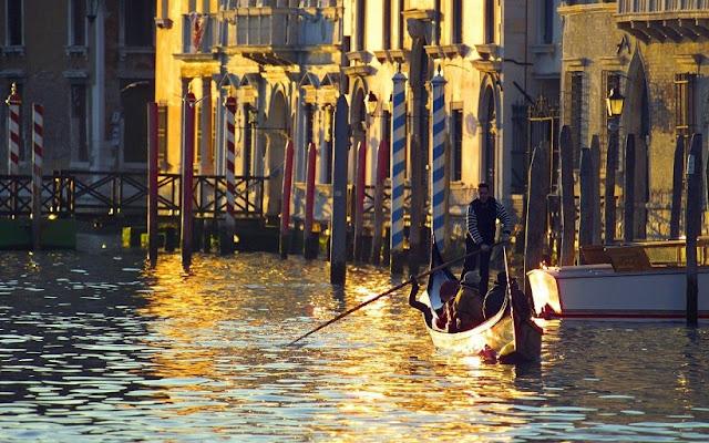 Sobre o Grande Canal de Veneza