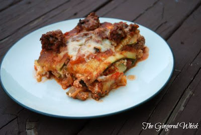 Zucchini Lasagna (The Gingered Whisk)
