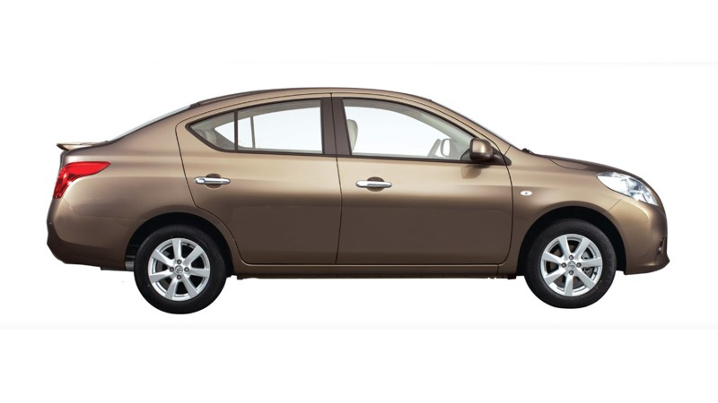 nissan almera arrives at dealerships, officially launching january