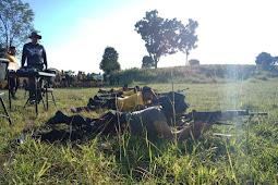 Tingkatkan Keahlian Menembak, Kapolres Gresik Gelar Latihan Menembak Bersama URC.