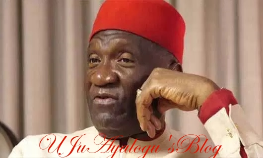 BREAKING: Home of Nwodo, President of Ohanaeze Ndigbo bombed