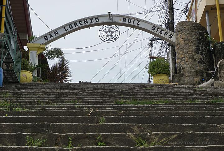 San Lorenzo Ruiz Steps