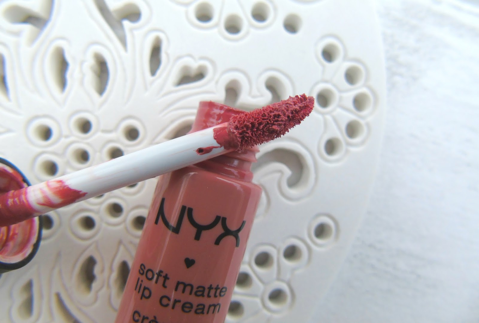 NYX Soft Matte Lip Cream in Stockholm Review