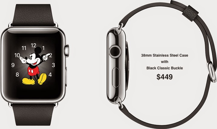 38mm Stainless Steel Case with Black Classic Buckle $449