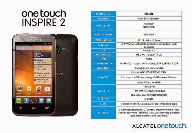 How to root Alcatel Inspire 2: Root Alcatel One Touch Inspire 2