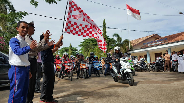 Astra Motor Sumsel Selenggarakan Fun Rally All New Honda Beat eSP