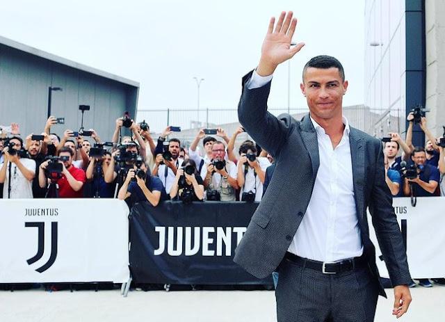 Ciao Turin! Ronaldo Tiba untuk Latihan Pertama Bareng Juventus