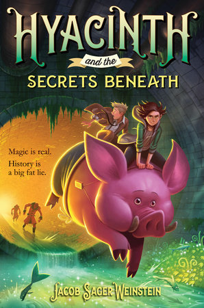 Hyacinth and the Secrets Beneath book cover