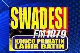 Radio Swadesi 107.9 fm Jogjakarta