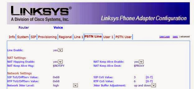 Linksys SPA3102 with FreePBX