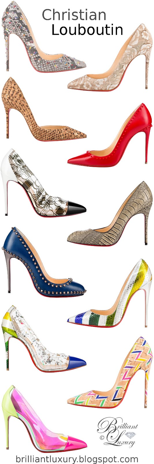 Brilliant Luxury ♦ Christian Louboutin hot summer pumps 2016