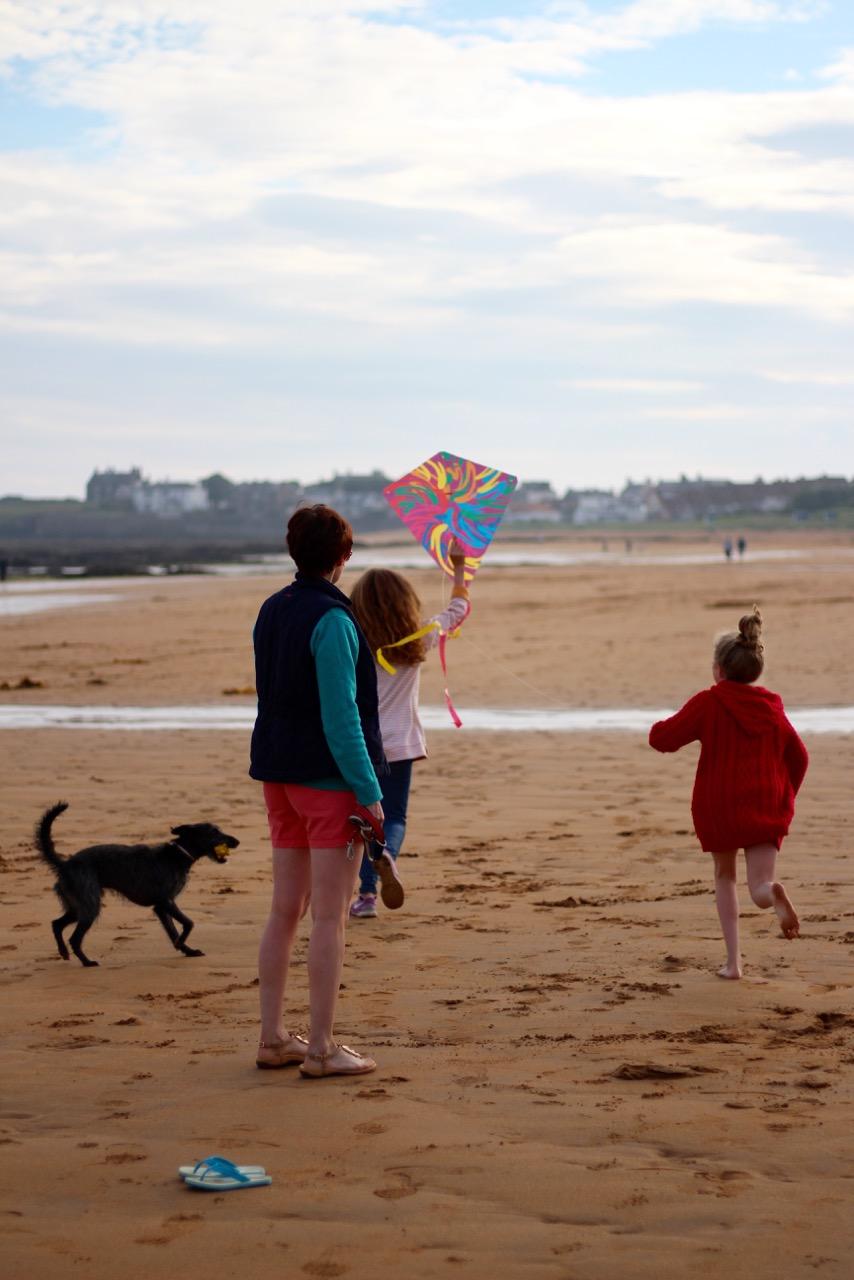 Family Beach Fun, Elie (Scotland)  | Fake Fabulous