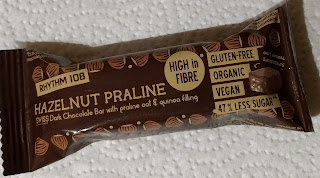 Dark Chocolate Hazelnut Praline Vegan bar