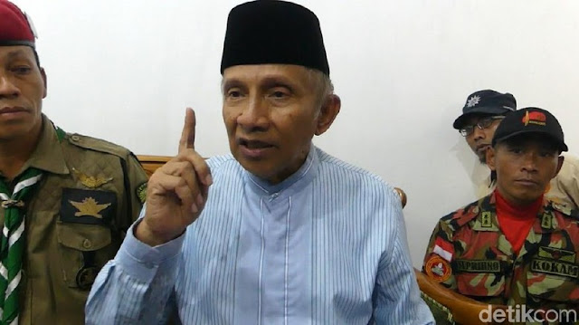 Koalisi Ummat Madani Deklarasikan Amien Rais Jadi Capres Hari Ini
