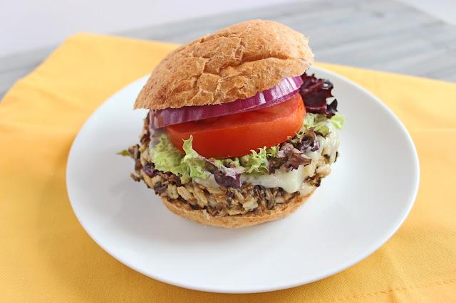 Wild Rice Burger