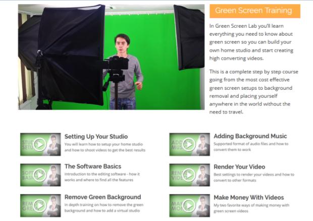 Green Screen Lab Free Training