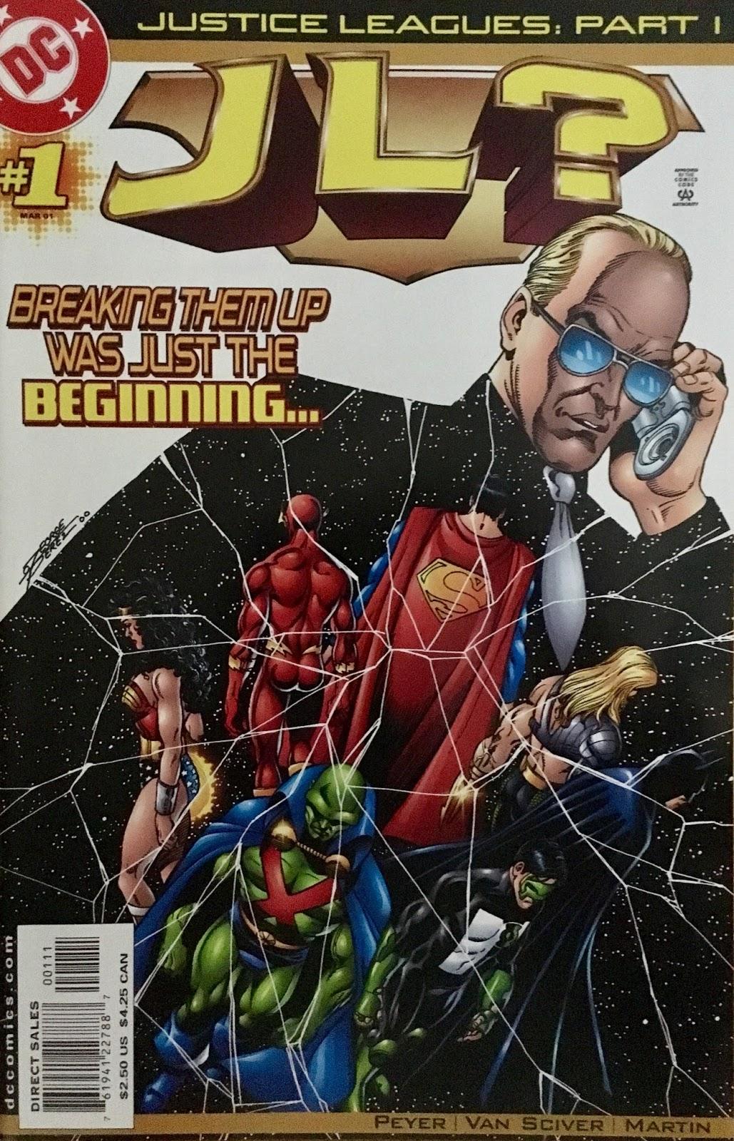 Justice Leagues JL 1 2001