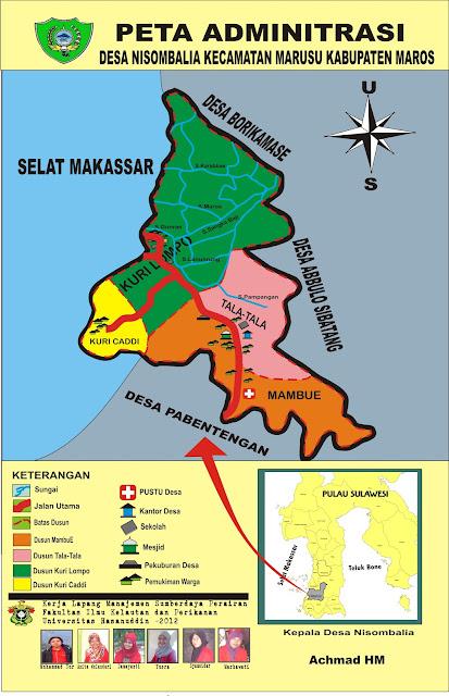 Sumberdaya Perairan Untuk Indonesia Berjaya: peta desa ...