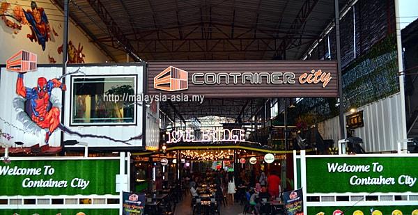 Container City in Miri Sarawak