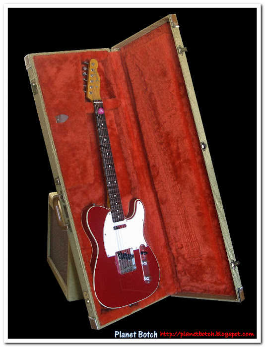 Candy Apple Red Custom Telecaster