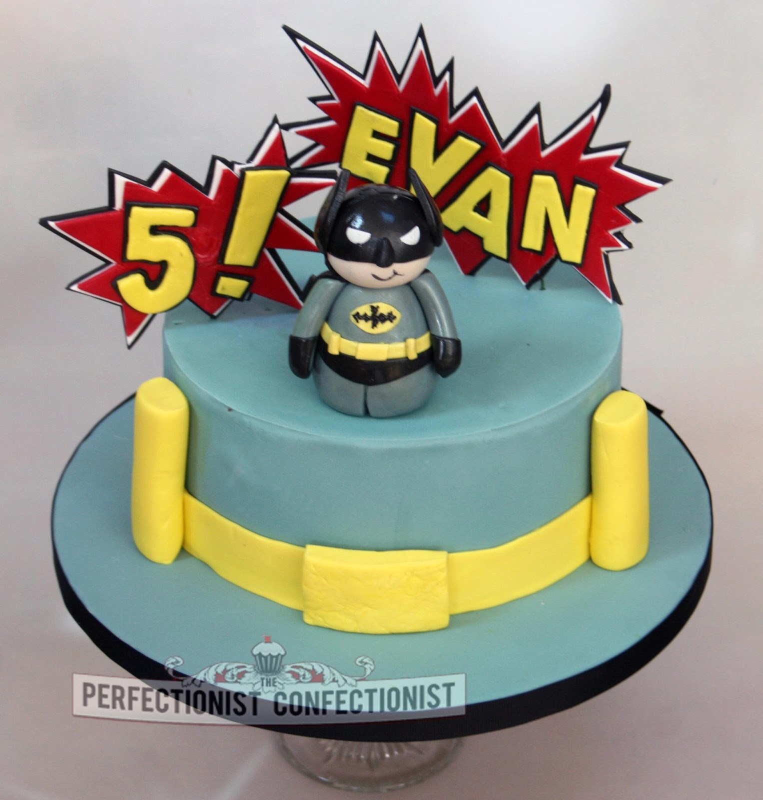 The Perfectionist Confectionist Evan Batman Birthday Cake