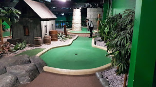 Paradise Island Adventure Golf courses at the Trafford Centre in Manchester