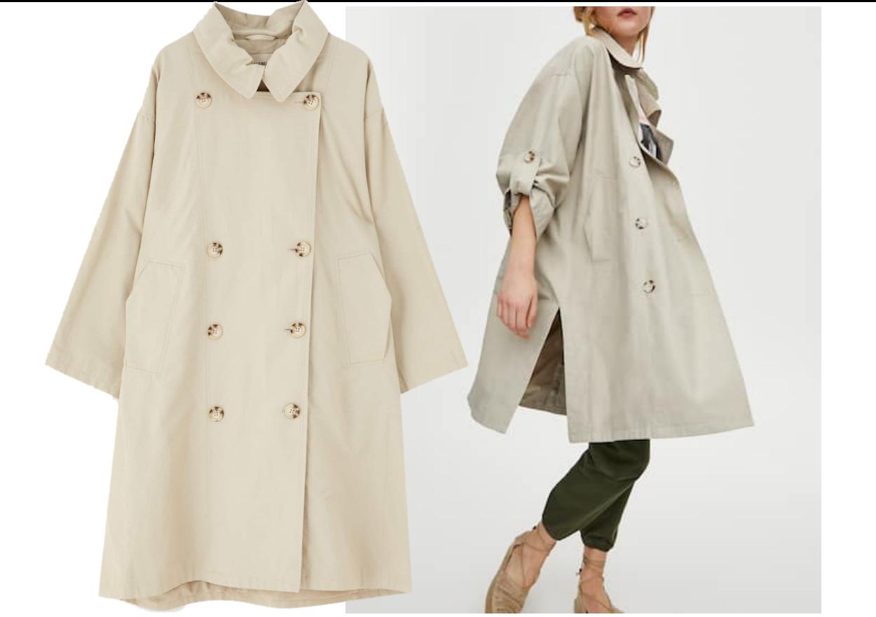 zara trencz, trencz mango, trencz, prochowiec, trencz stylizacje, modne płaszcze, cienki płaszcz