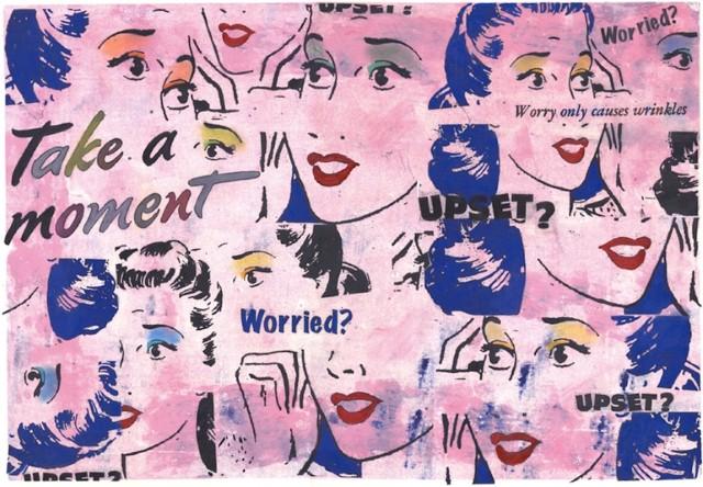 Коллажи и изобразительное искусство. Laurie Raskin 24