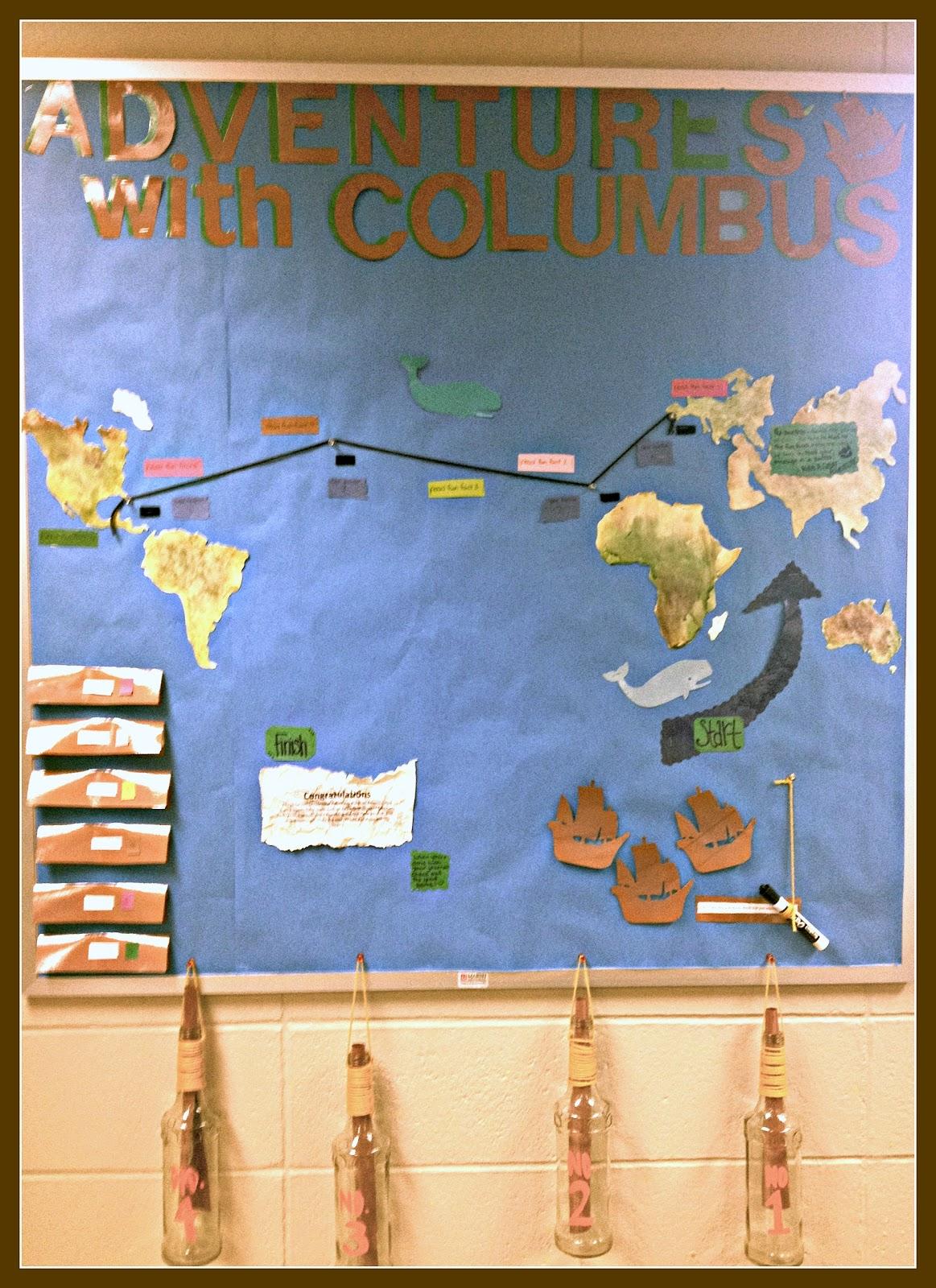 Literary Showcase Adventures With Columbus