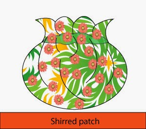 Shirred Patch