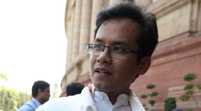 Congress MP Gaurav Gogoi