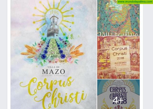Villa de Mazo busca cartel para el Corpus Christi 2018