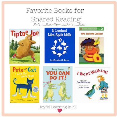 shared reading books