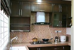 Kabinet Dapur Rumah Teres Inspirasi Dekorasi Rumah