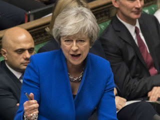 Theresa May warns MPs that halting Brexit will be catastrophic