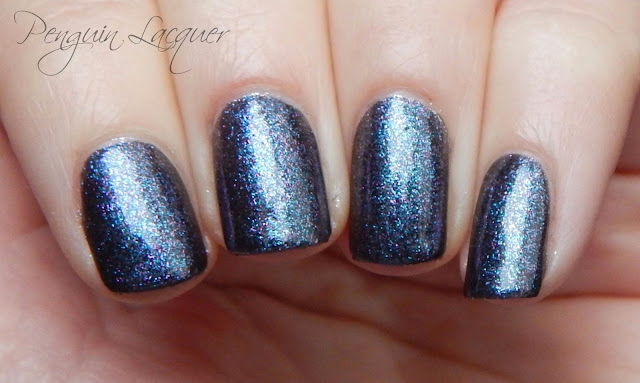 kiko nail lacquer 524 blue multicolour nah
