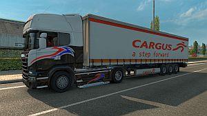 Cargus Courier trailer skin mod