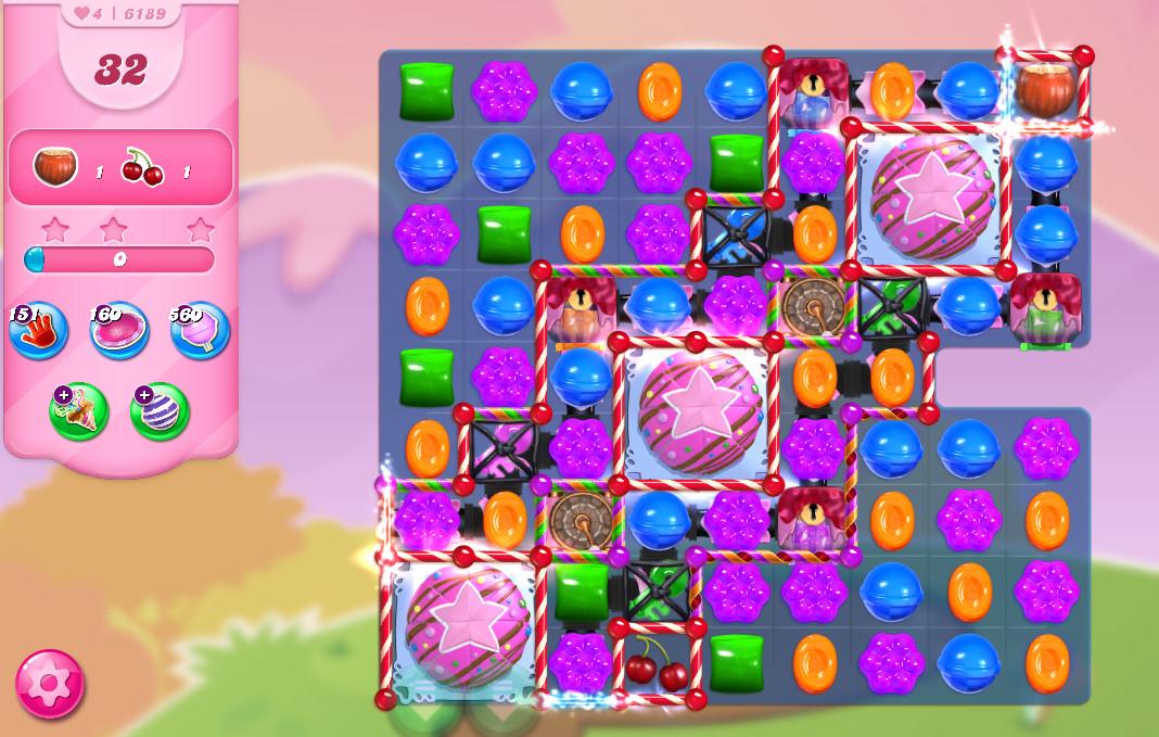 Candy Crush Saga level 6189