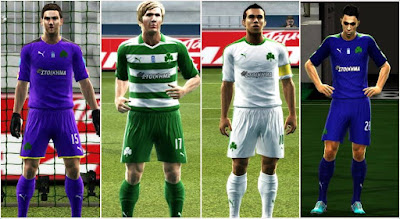 Pes 2013 Panathinaikos Fc Kits 2016-2017 By Argy