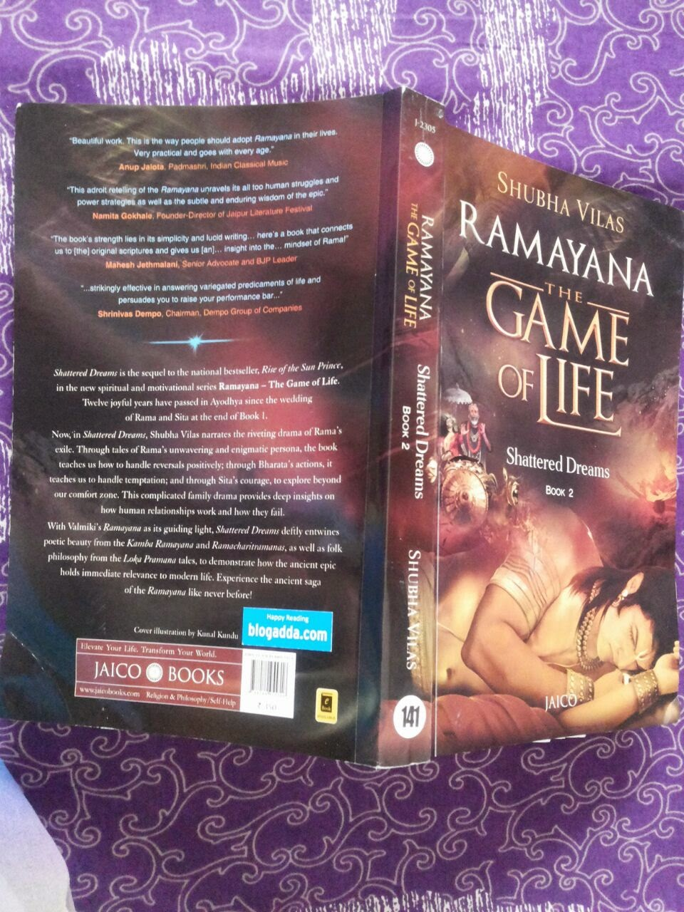 Aura Of Thoughts: Book Review : Ramayana – The Game of Life