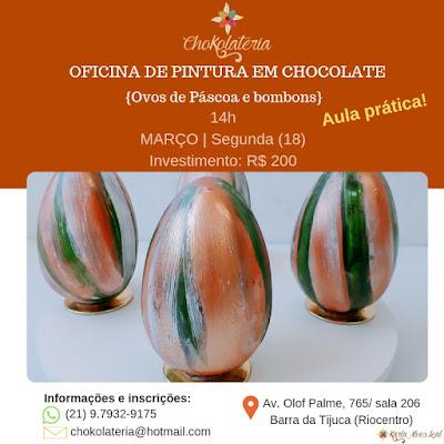 Curso | Oficina de Pintura em Chocolate