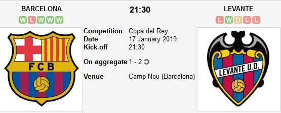 barcelona vs levante live