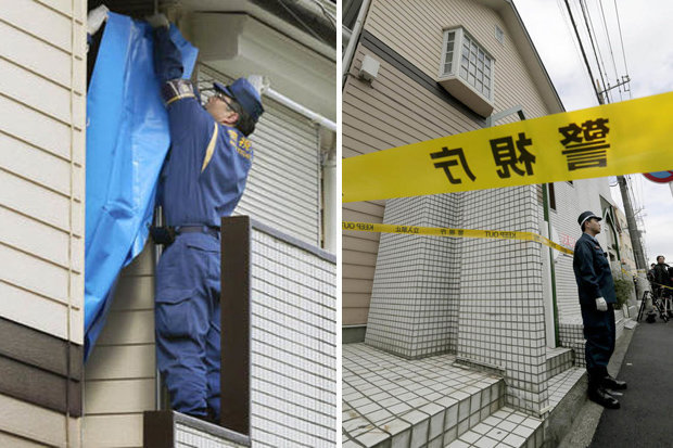Complete Horror as Police Officers Find Severed Heads And Body Parts in a Flat