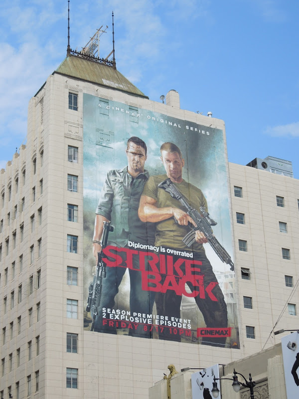 Giant Strike Back season 2 billboard