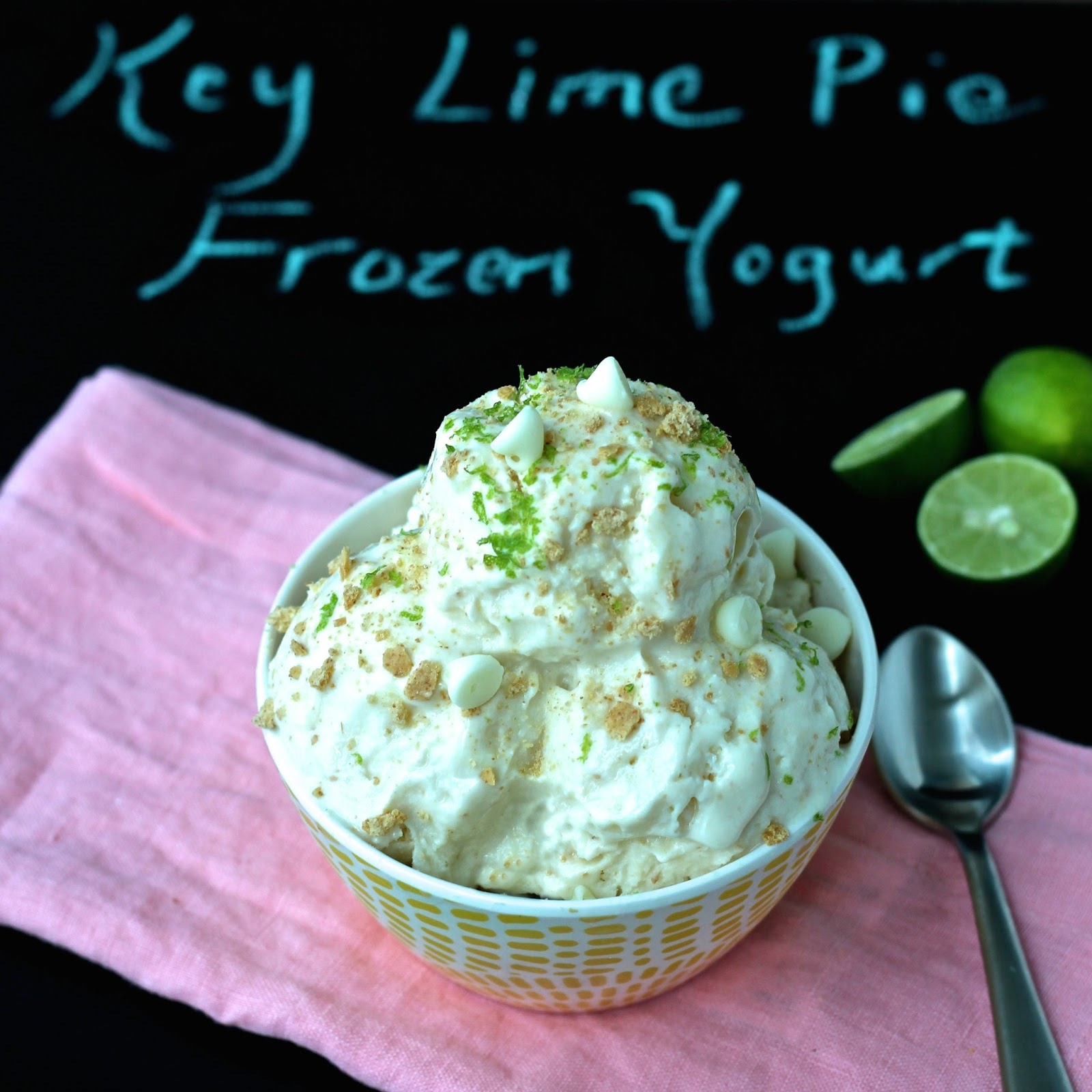 Dining With The Doc: Key Lime Pie Frozen Yogurt