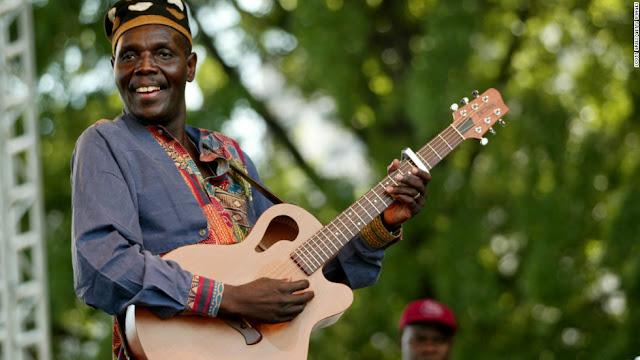 Oliver Mtukudzi...back with 65th album