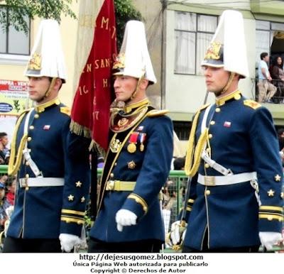 Foto de la Delegación Militar de Chile en Perú - Cadetes. Foto tomada por Jesus Gómez